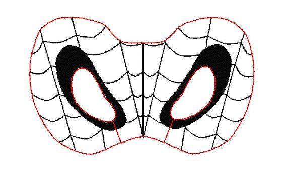 5x7 Spiderman Half Mask Pattern by OFNAH on Etsy, $6.00 ...