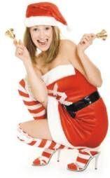 girl ringing Christmas bells game