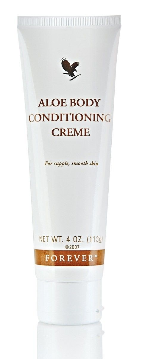 Aloe Body Conditioning Creme: smoothes and softens the skin. The cream has the ability to stimulate the blood circulation. Consolidated waste products, fat and liquids in the connective tissue can thus be drifted.