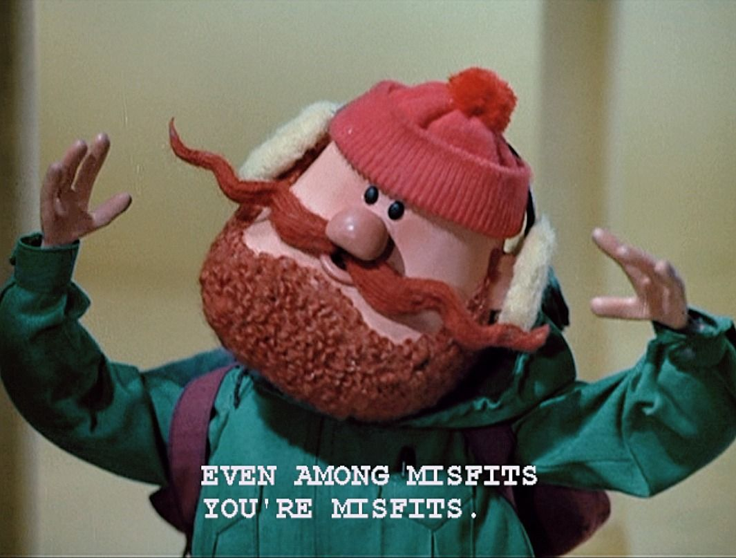 Yukon Cornelius! Yay! Misfit toys, Family halloween