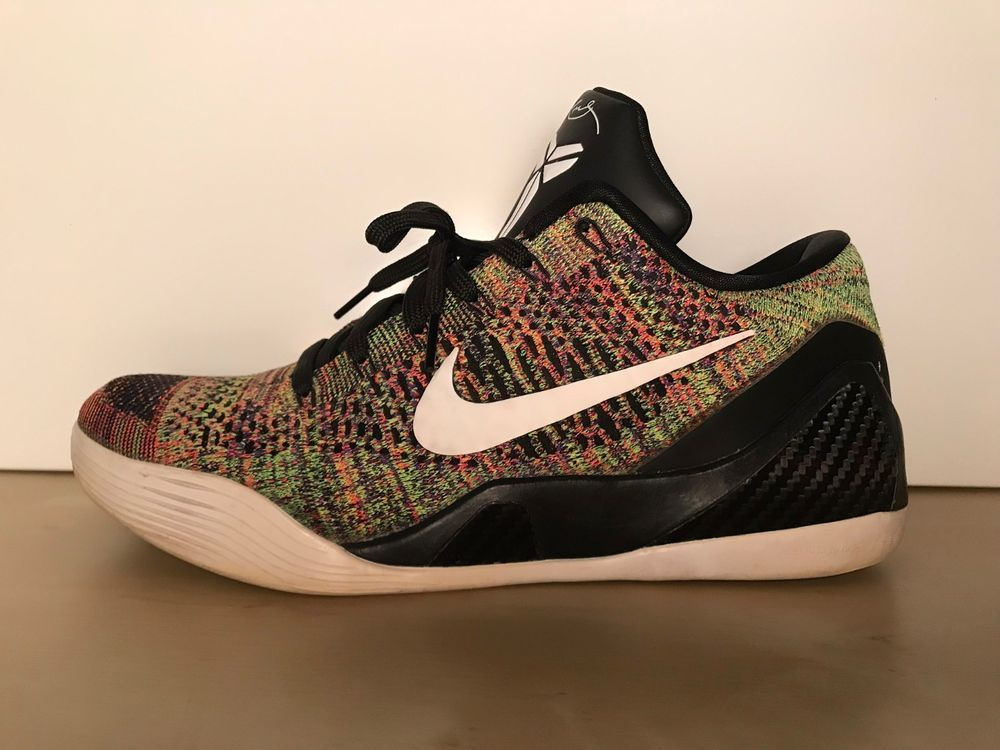 save off d38e3 52608 Nike iD Kobe 9 Elite Low Flyknit Multicolor Size 10.5 Supreme IX  fashion   clothing  shoes  accessories  mensshoes  casualshoes (ebay link)