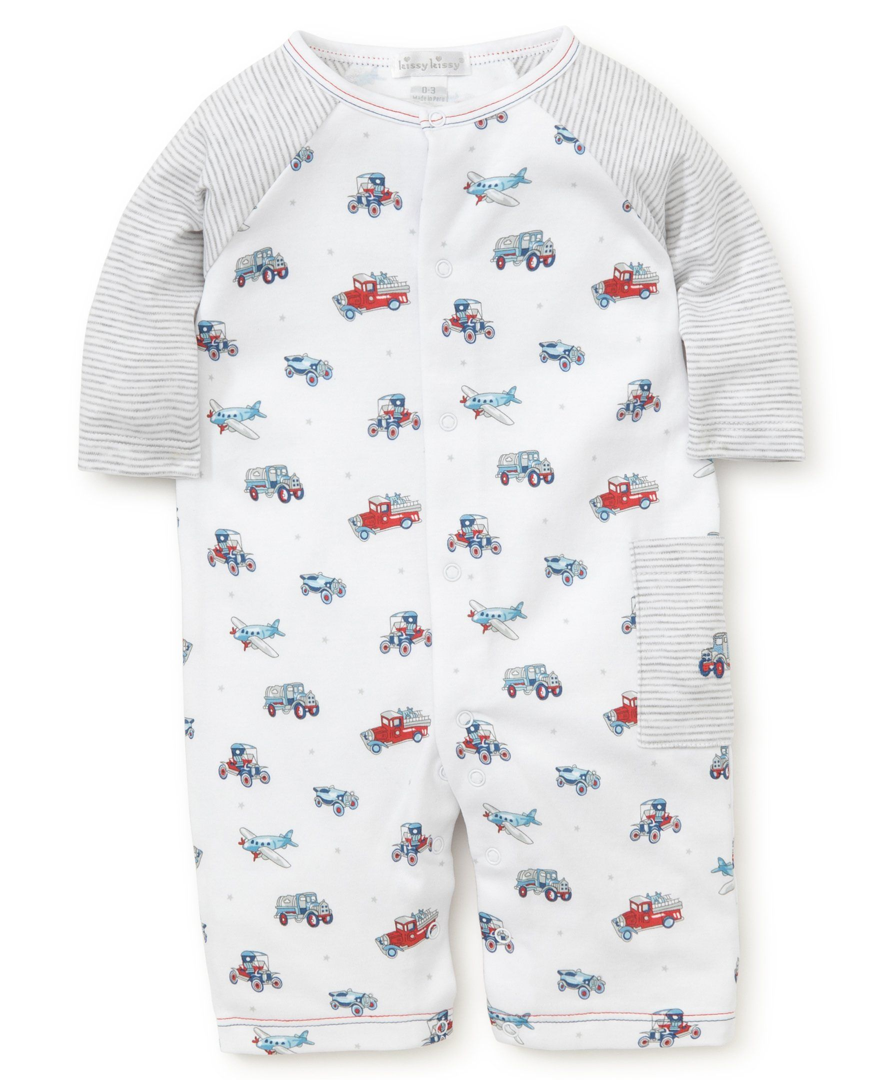 Kissy Kissy Babyboys Infant Classics Print Playsuitmulticolored69 Months Click Image For More Information Little Boy Outfits Boy Outfits Baby Boy Outfits