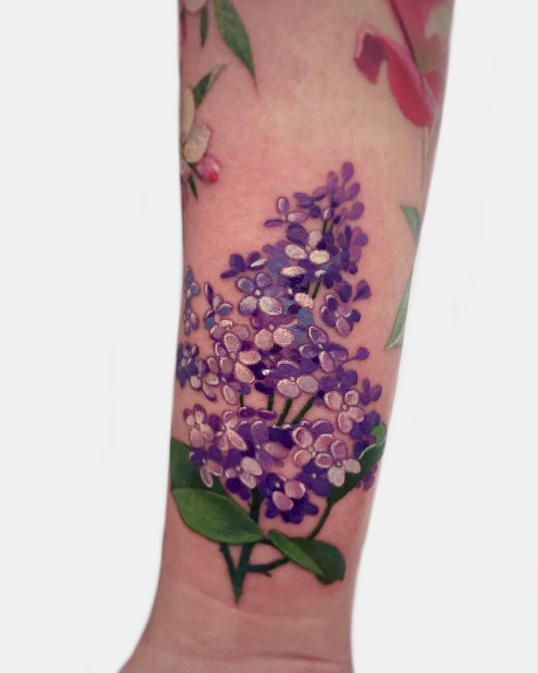 Tenderness in tattoos by Janice Bao Bao