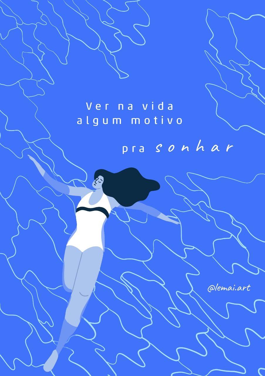 Letra Da Musica Azul Da Cor Do Mar De Tim Maia Ilustrada