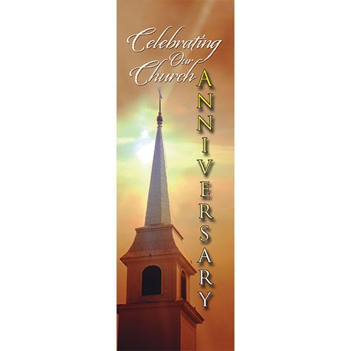 Church Anniversary Ii Indoor Banner Diy Crafts