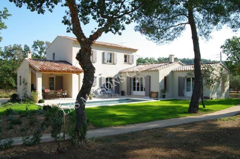 Maison proven ale au coeur du luberon 0 maisons du sud ext rieurs maison maison - Plan de maison provencale ...