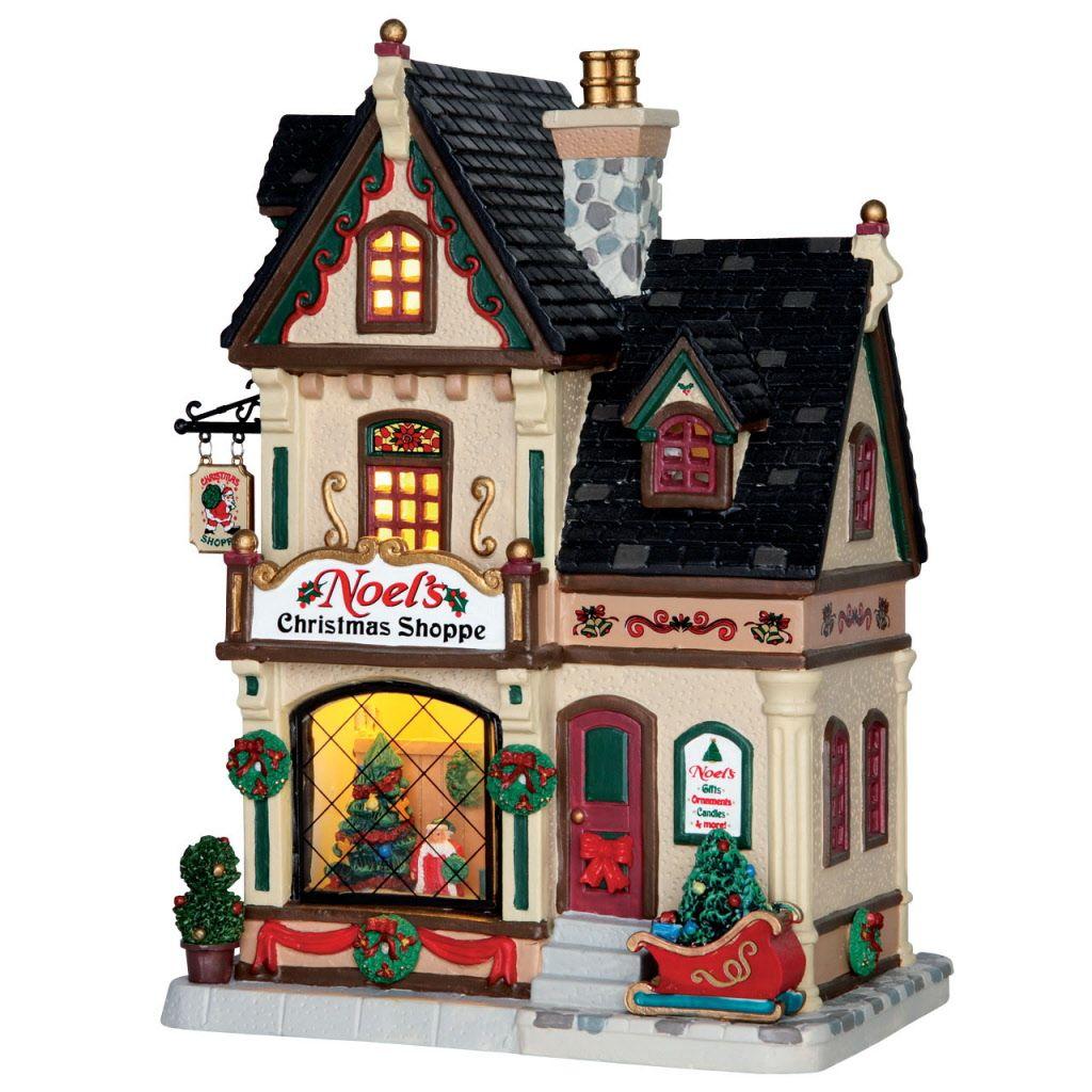 Art.-Nr.: L 65.154 - Noels Christmas Shoppe | Weihnachtsdorf basteln ...