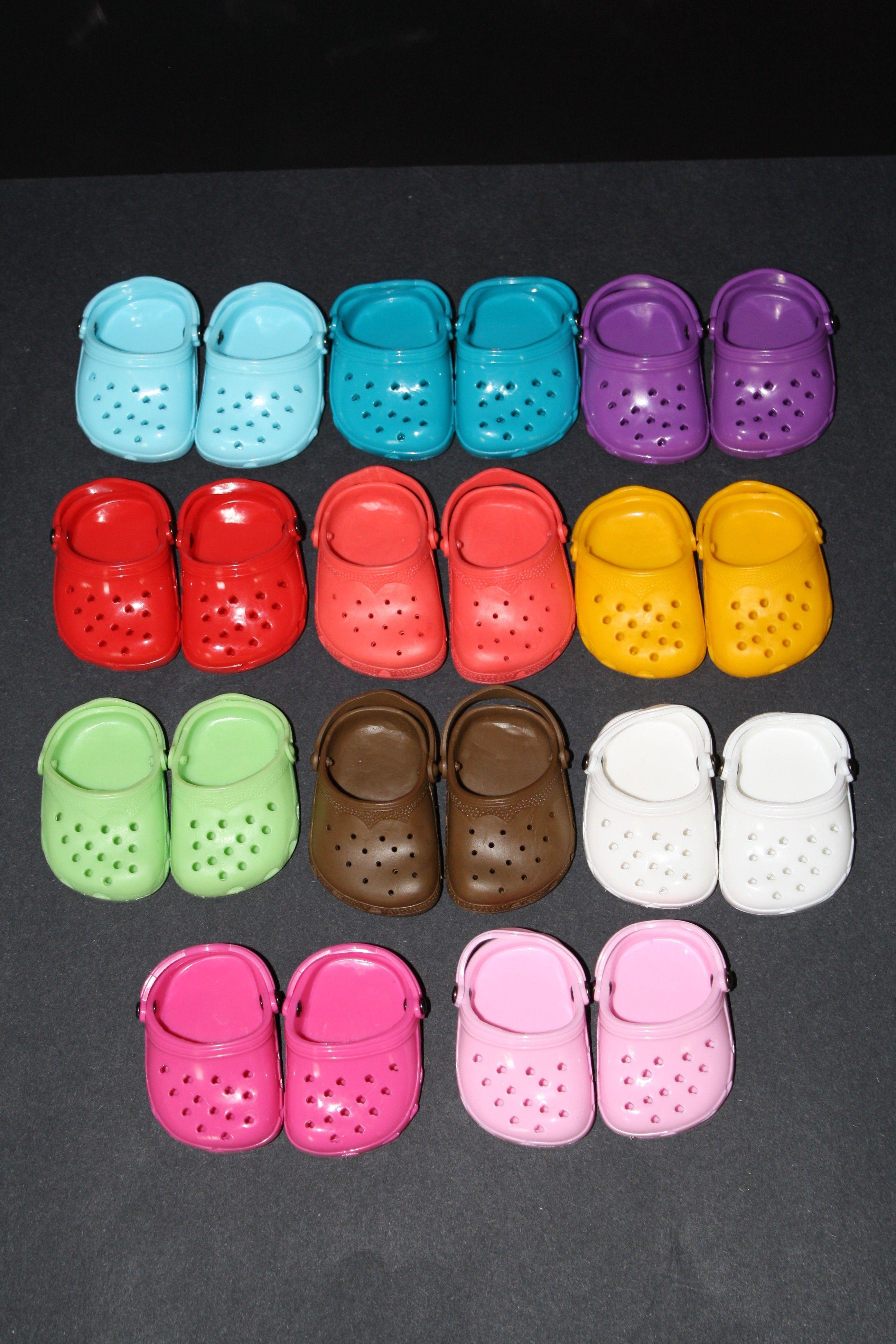 e5dd4a505 Crocs for Dolls for American Girl Dolls  7.50