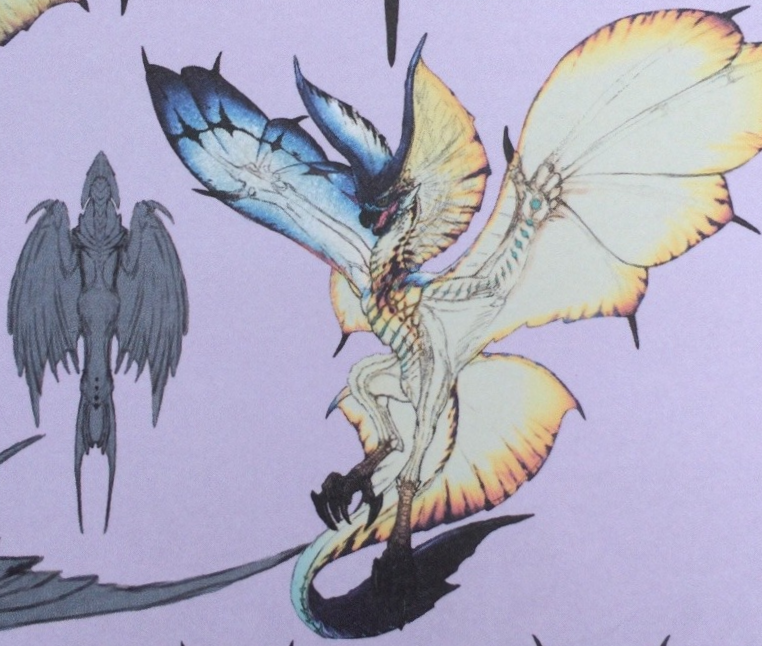 Damn wyvern gems theworstbear legiana concept art for Decorations monster hunter world