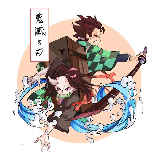Nezuko and Tanjiro Twitter