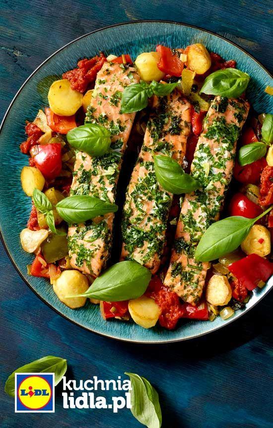 Filet Z Lososia W Peperonacie Przepis Recipe Food Fish And Seafood Main Course