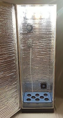 Ft TALL 8 PLANT HYDROPONIC GROW CABINET SYSTEM STEALTH HYDRO COMPLETE BOX KIT