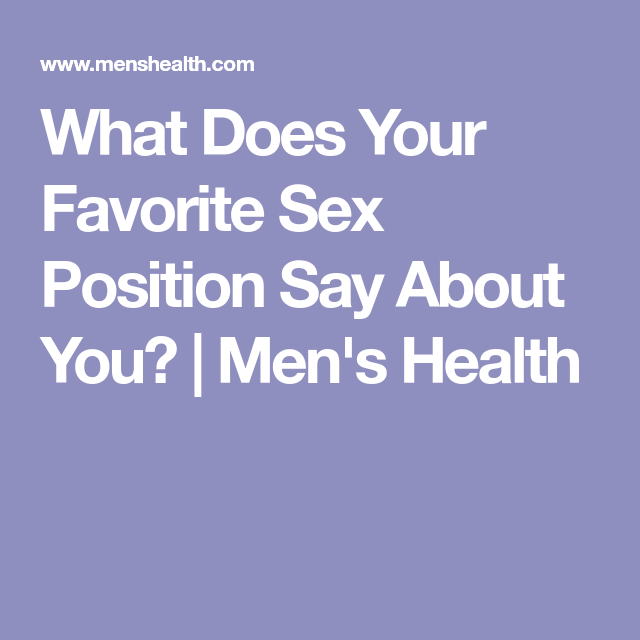 What your favorite sex position says about you picture 17