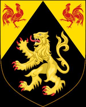 Coat of arms of Walloon Brabant, Belgium