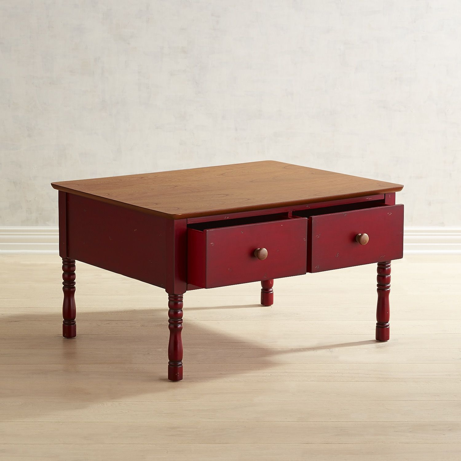 Haven Red Coffee Table