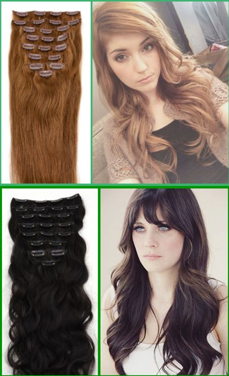 Cute Hairstyle By Using The Clip In Hair Extensions It Comes True