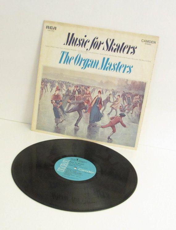 Organ Masters  Music for Skaters   Vinyl LP by SandyLeesAttic, $7.95