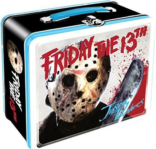 Lunch Box - Friday the 13th - Movie Jason Art Tin Case Licensed Gifts 48091 by Friday the 13th @ niftywarehouse.com