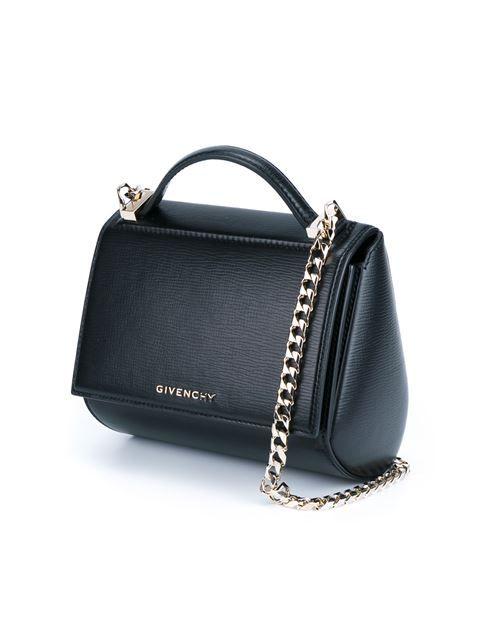 36fc885130f1 Givenchy Leather Pandora Box Handbag