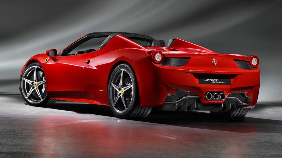 Ferrari 458 Spider A New Generation Of Convertible Italiansupercars Automobiles