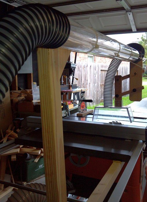 Table Saw Overarm Dust Collection By Routerisstillmyname Lumberjocks Woodworking Community