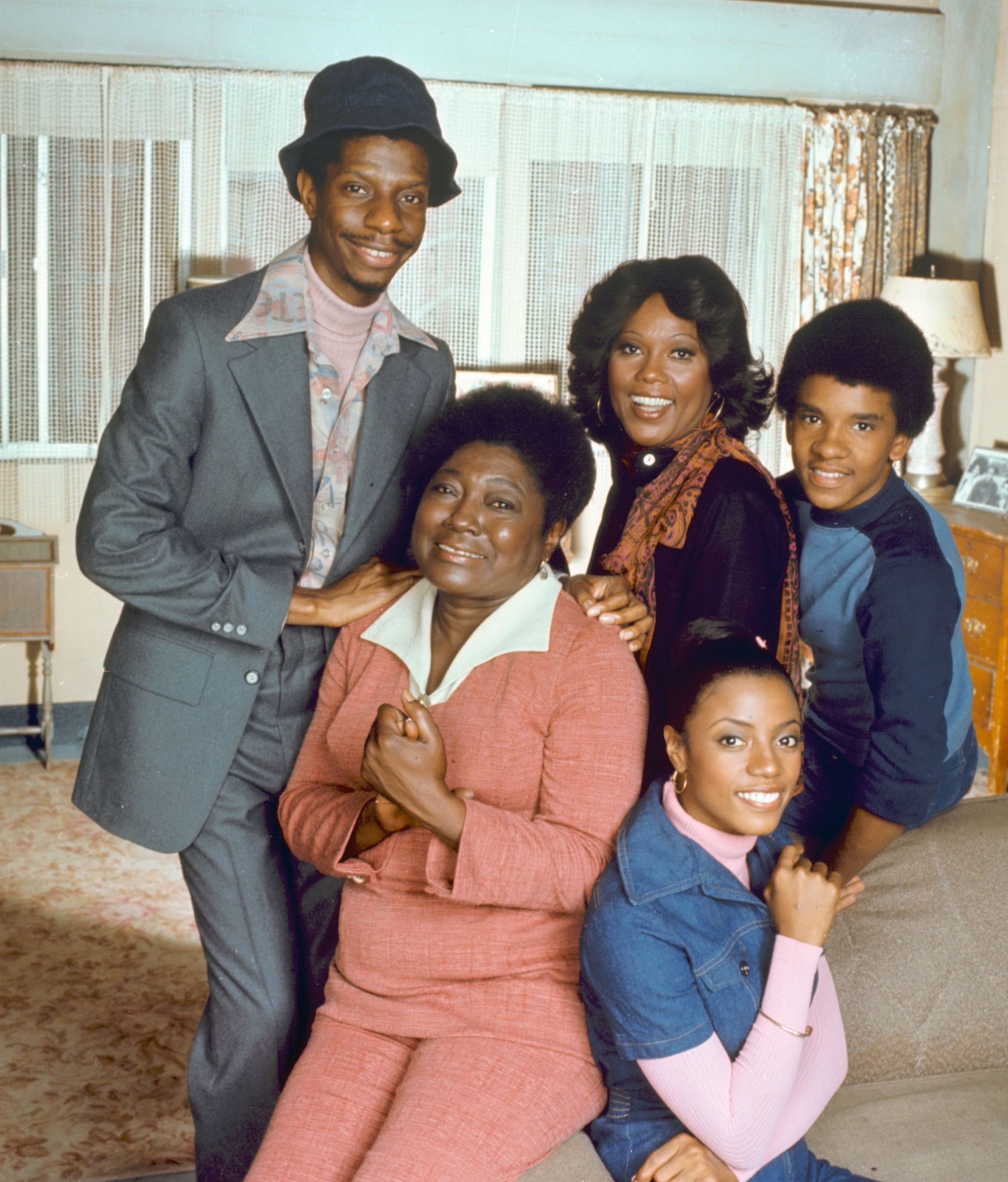 Esther Rolle and the cast of Good Times | Kibbe Classic Fashion Type
