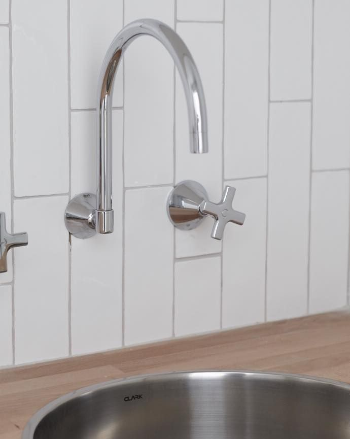 Dorf Maxum Wall Sink Set partnered with Clark Sink - Laundry Love ...