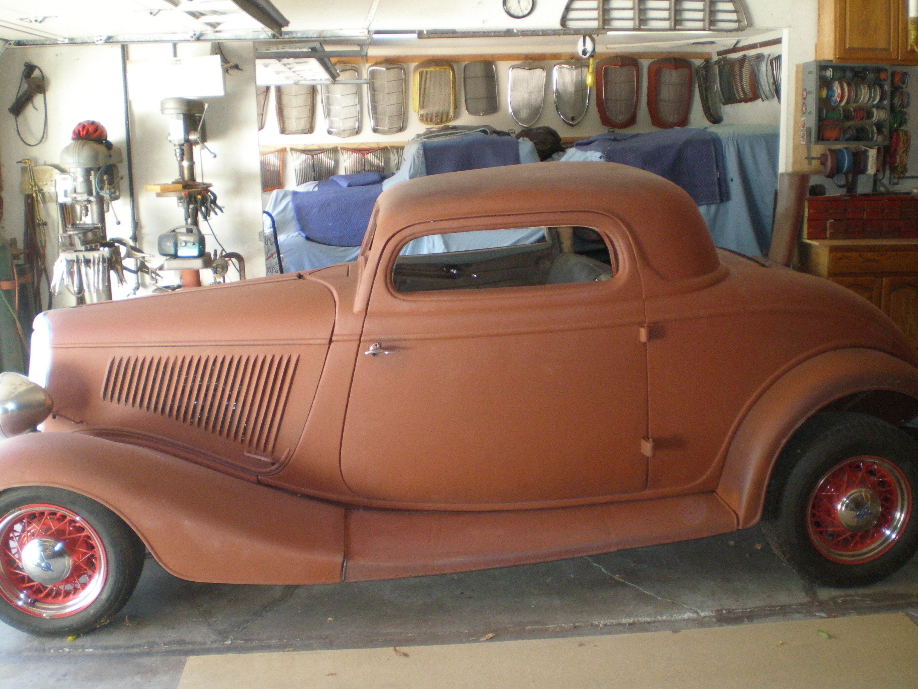 FOR SALE 1934 Ford 3 Window coupe chopped top