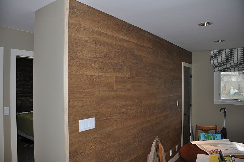 Laminate Flooring Wall Hometalk Styles Industrial Pinterest