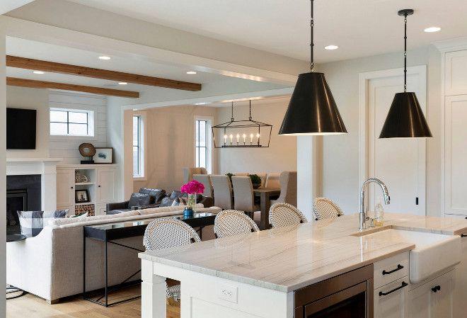 Interior Design Ideas Countertop is White Macaubas Quartzite