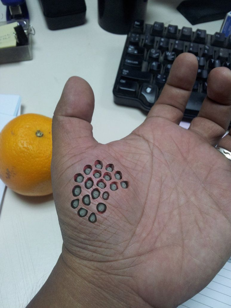 Trypophobia Is A Real Terrifying Thing And You Definitely Have It