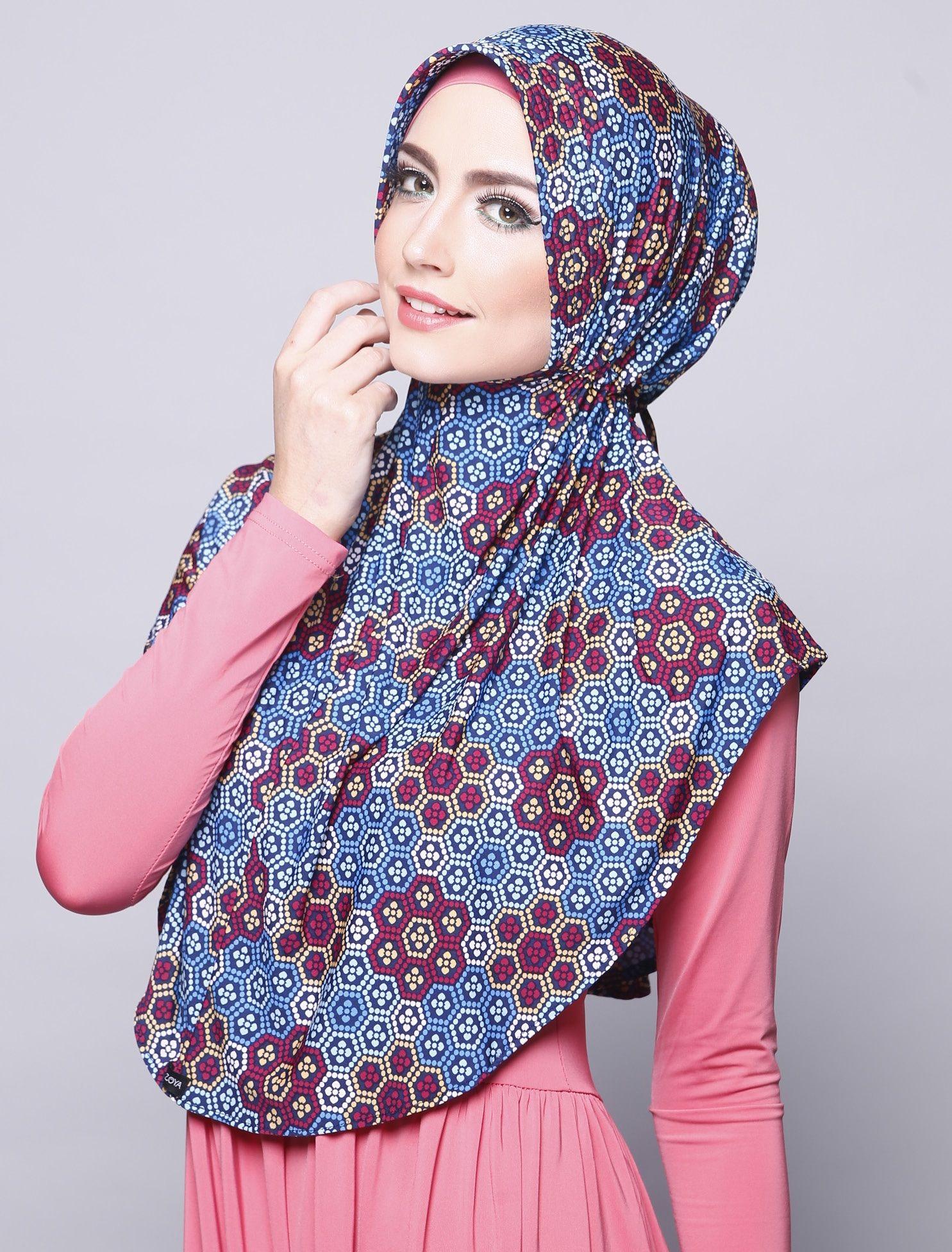 Pin by nibinebu on jilbab zoya pinterest Baju gamis zoya