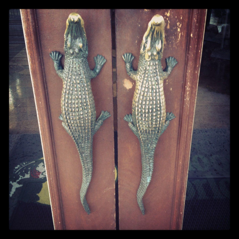 Alligator door handles | Alligators and Alligator stuff ...