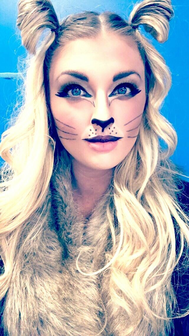 Fierce Lion Makeup...so cute and easy! diymakeup