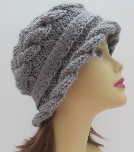 Hat Pattern Knitting Pattern Pdf 155 Knitting Hat Pattern