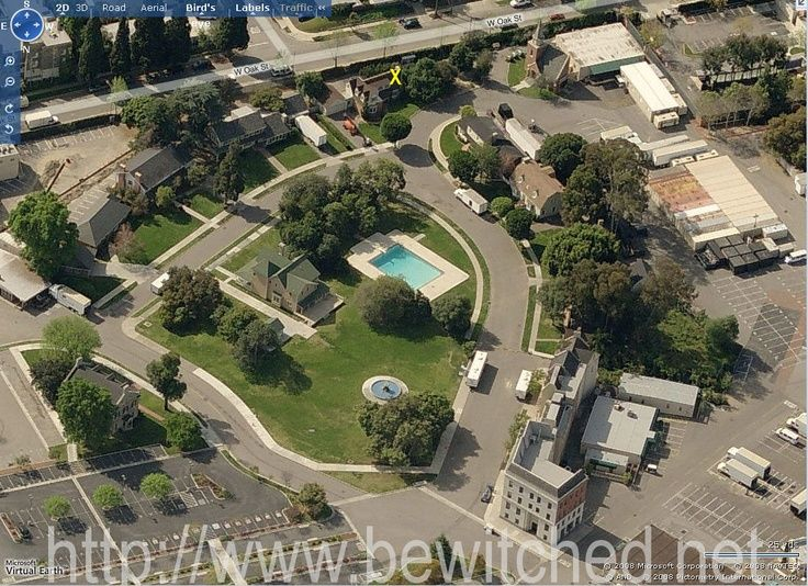 View From Above The Warner Brothers Ranch With 1164