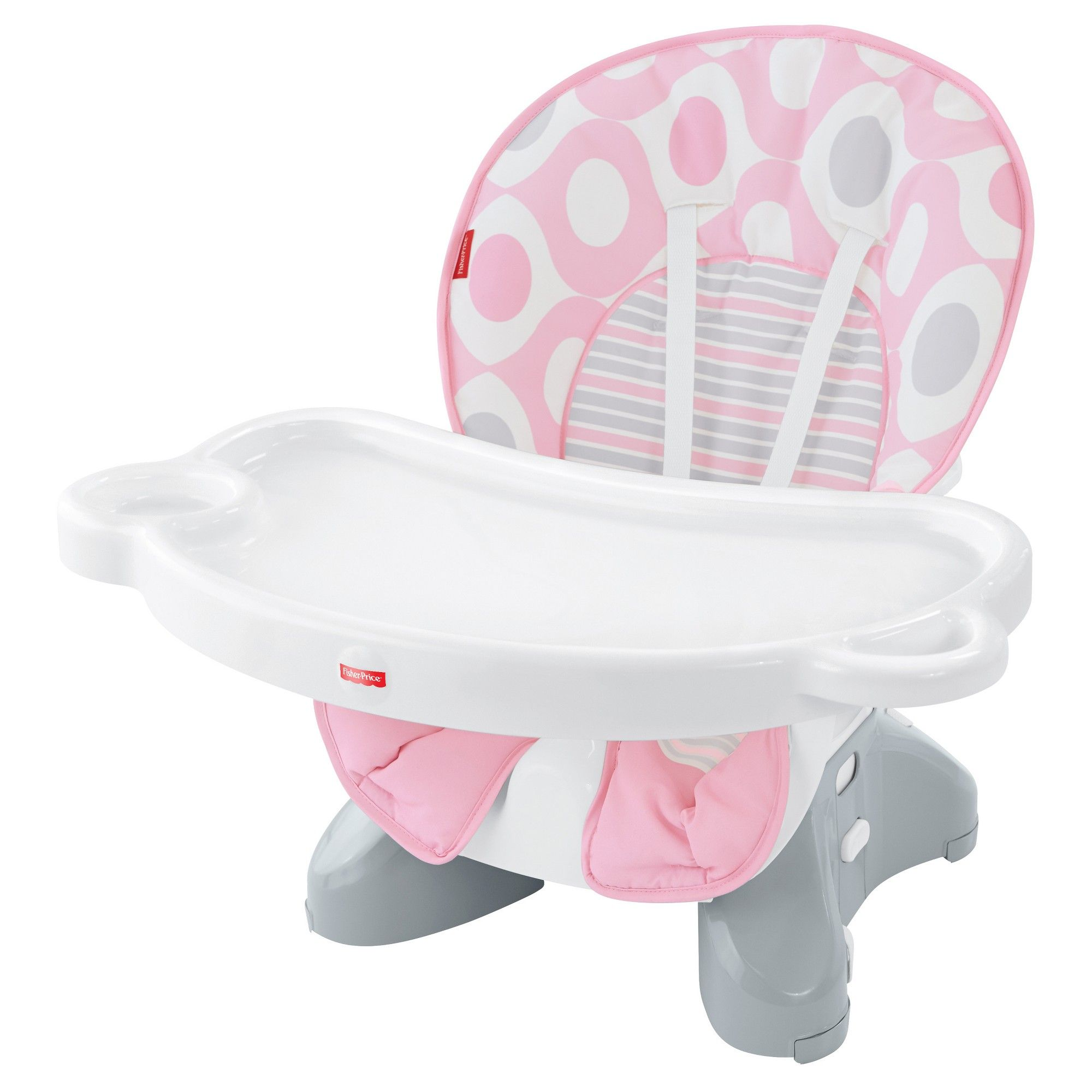 60aab2a24365 Fisher-Price SpaceSaver High Chair - Pink Ellipse