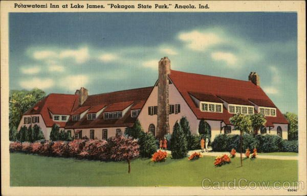 Angola In Potawatomi Inn At Lake James Pokagon State Park The Newest Of Hotels Streuben County Indiana Near