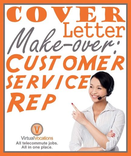 Make-over your #CoverLetter if Youu0027re a - cover letter customer service representative
