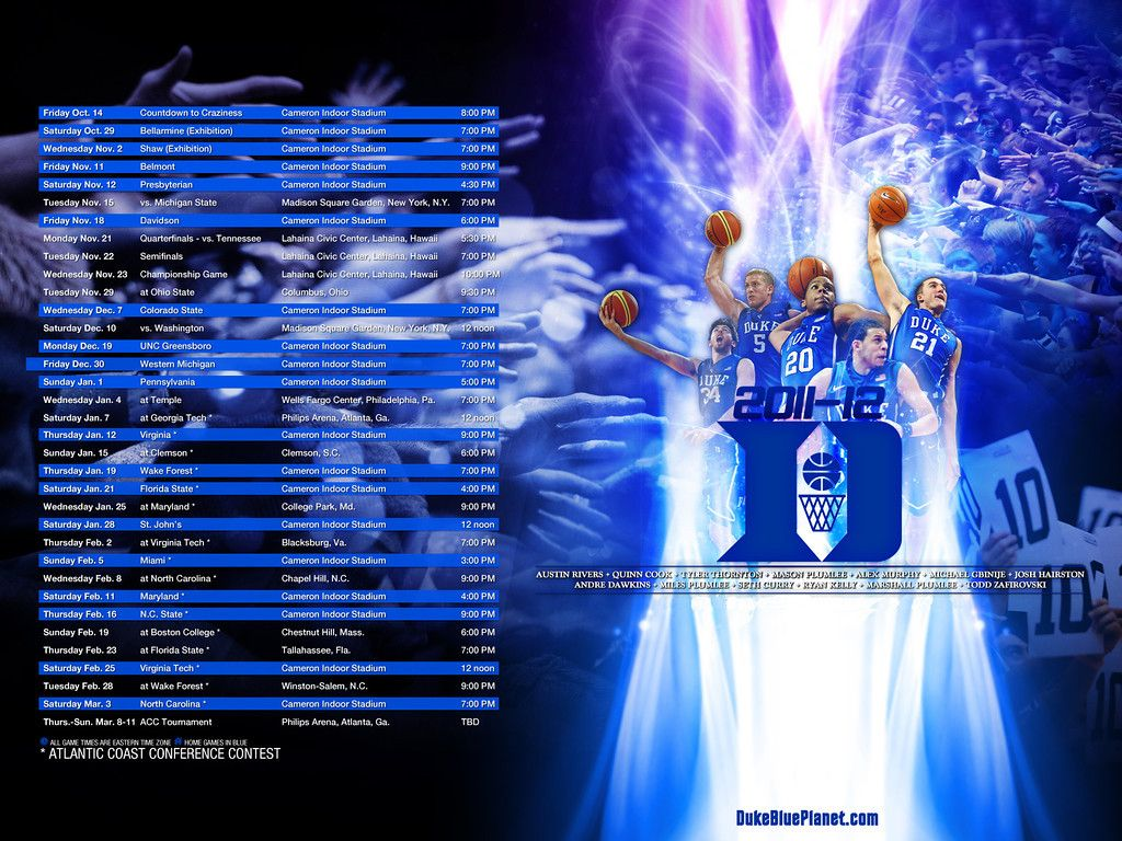 Image From Http Www Blueplanetshots Com True Blue Wallpaper 1 I Lzvxn4j 0 Xl Schedule11 12 1600x1200 X Basketball Wallpaper Duke Basketball Sports Wallpapers