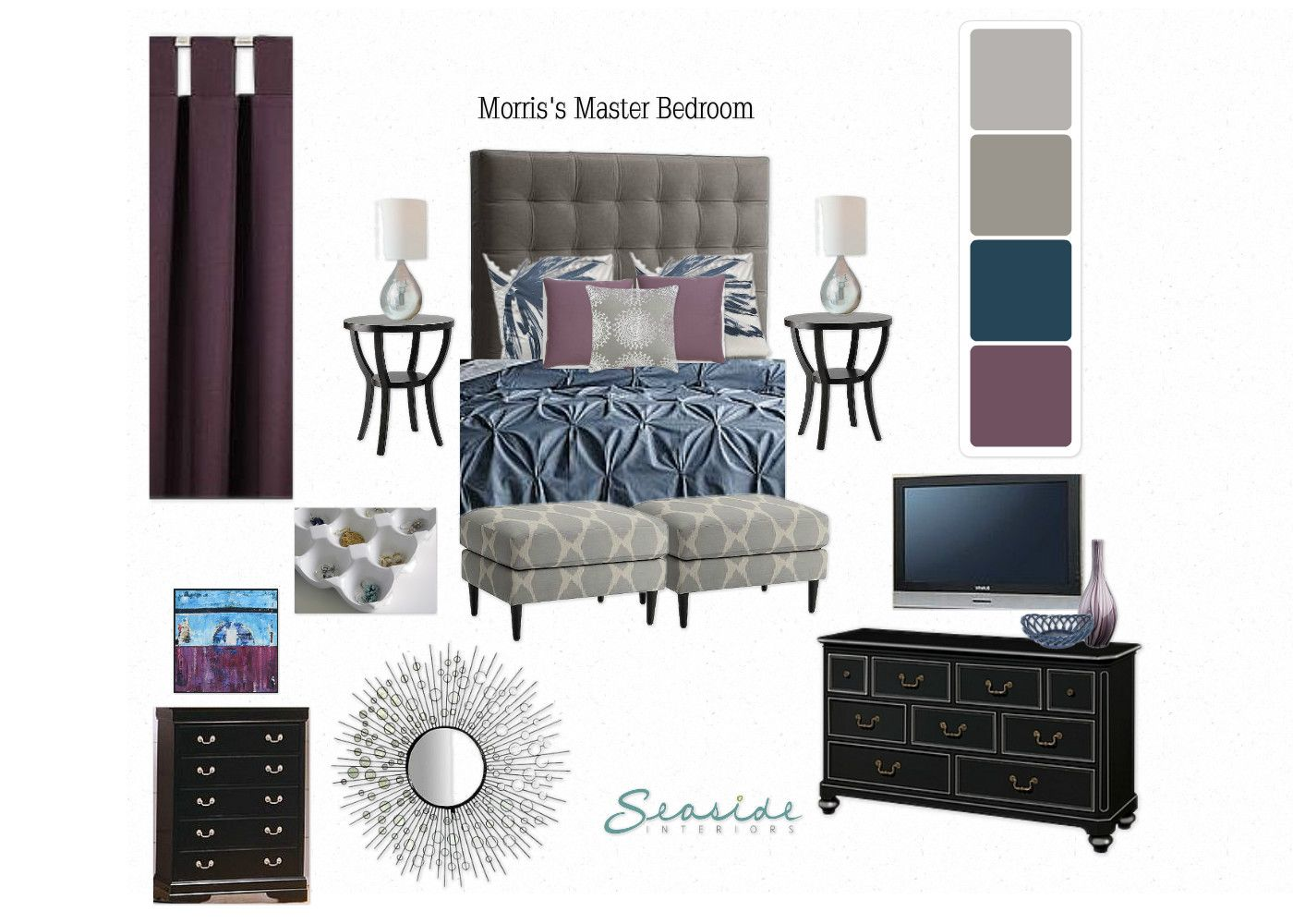 Best Mindful Gray By Sherwin Williams Master Bedroom Colors 400 x 300