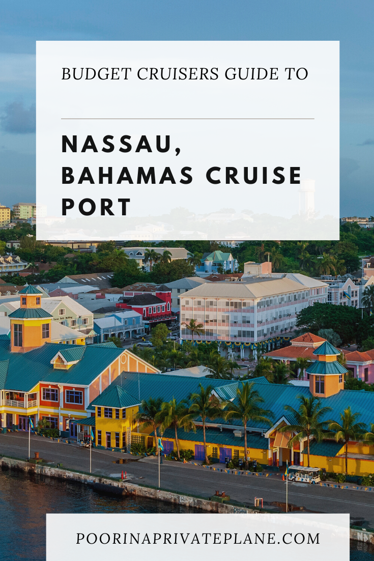If you find yourself docking at the Nassau Bahamas Cruise Port on your next cruise and do not know what to do while at port, we are here to save the day. From the best beaches within walking distance to the port to free and cheap things you can do  within a sort walk from the ship. Stay on budget on your next cruise vacation with this budget friendly guide to Nassau, Bahamas Cruise Port. #nassau #bahamas