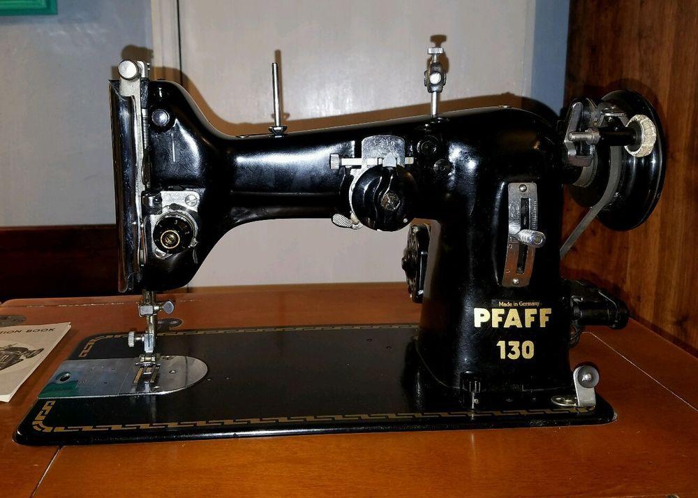 Vintage PFAFF 40 SEWING MACHINE Orig Manuals Accessories All Extraordinary Pfaff Sewing Machine Model 130