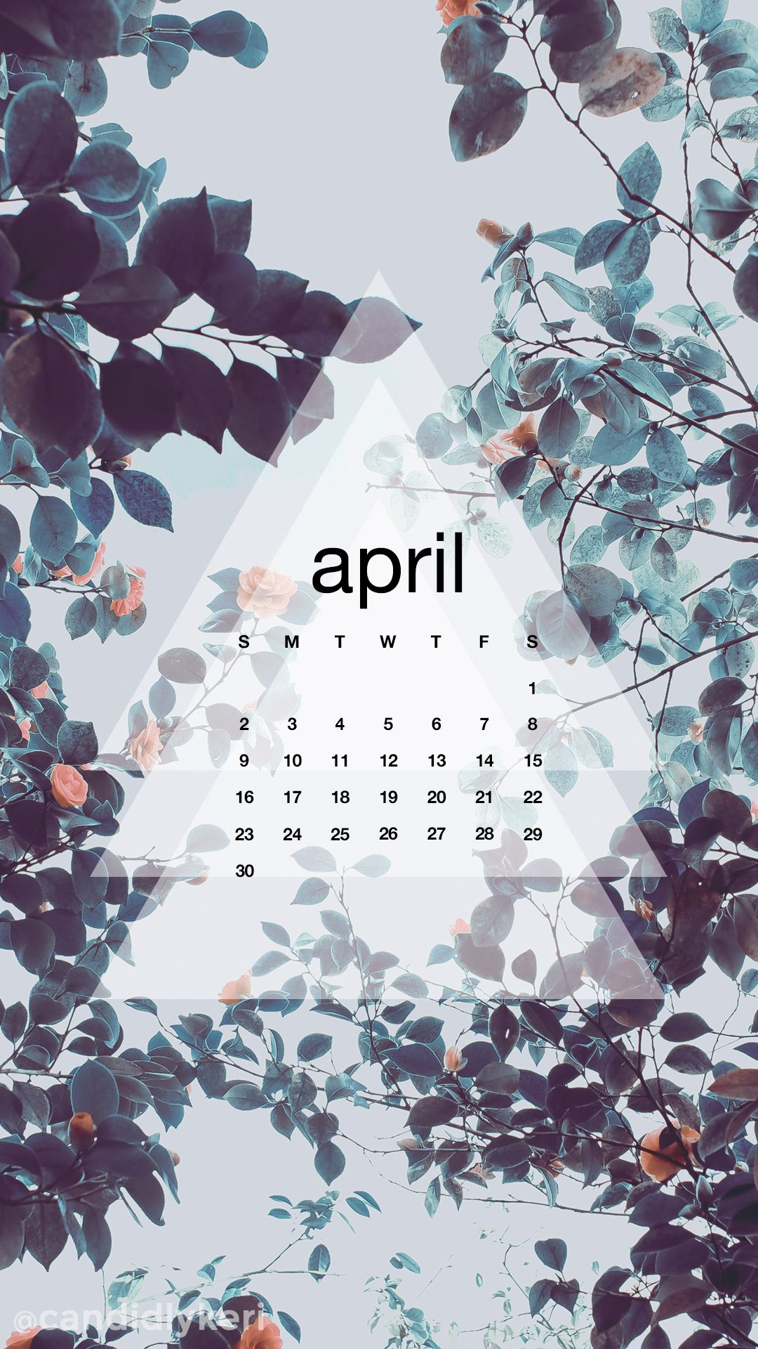 April Calendar 2017 Wallpaper You Can Download For Free On