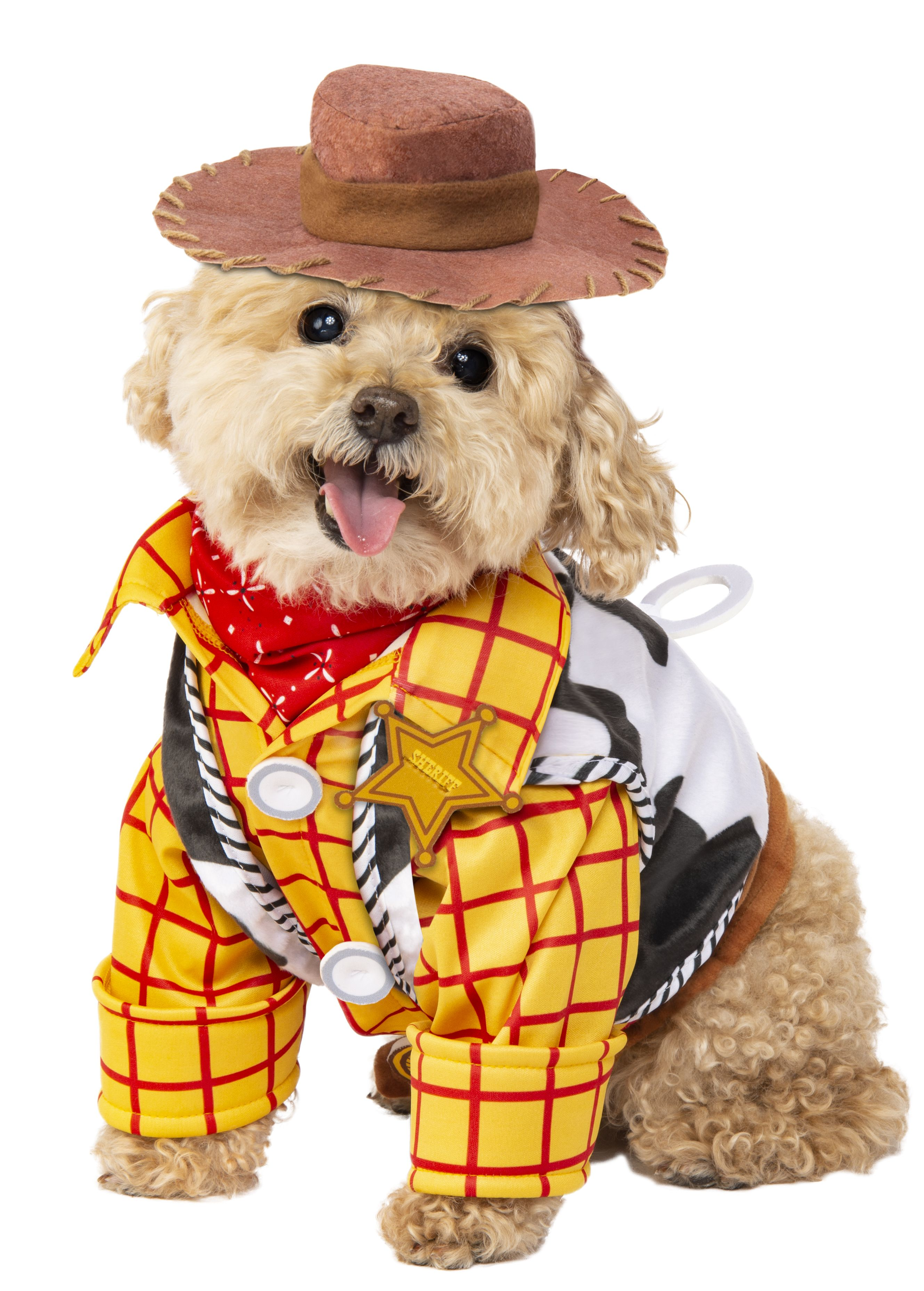 Toy Story Lovers Rejoice Your Pet Can Now Dress Up As Woody