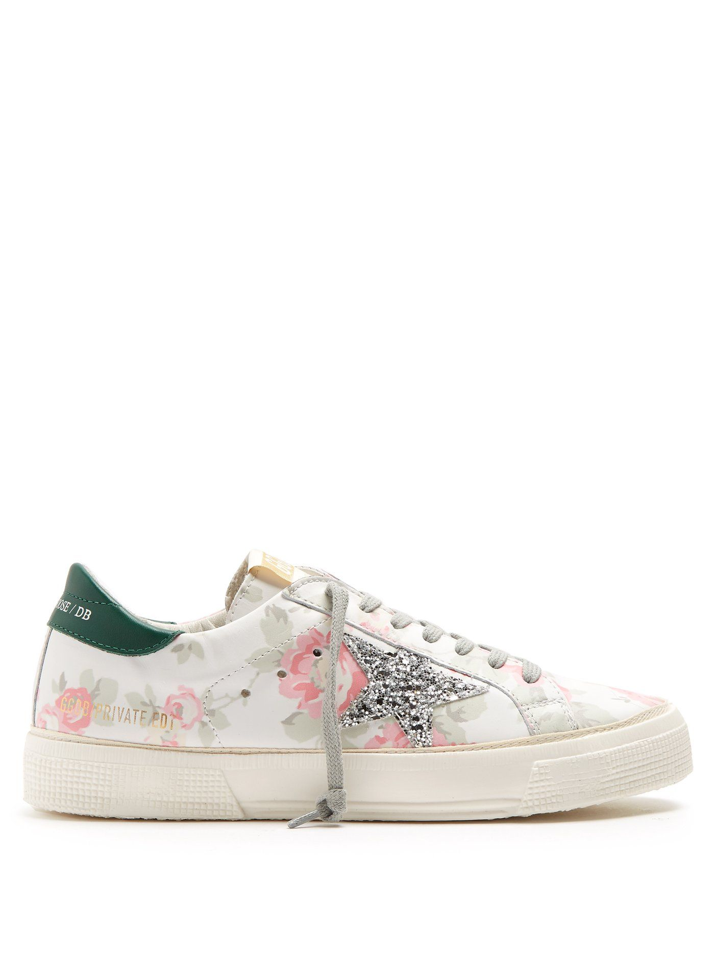 8652b35ded036 Click here to buy Golden Goose Deluxe Brand Super Star low-top floral-print leather  trainers at MATCHESFASHION.COM