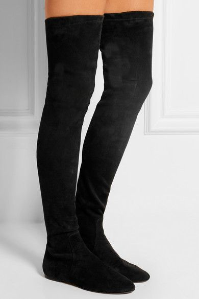 Isabel Marant Round-Toe Suede Over-The-Knee Boots official sale online amazing price cheap online sale 2014 new clearance cheapest price 8lCVerZ5LI