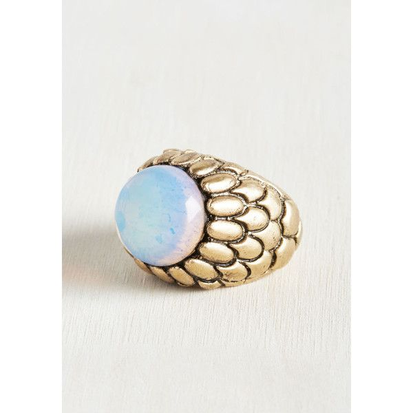 Luncheons and Dragons Ring ($4.99) ❤ liked on Polyvore featuring jewelry, rings, sports jewelry, imitation jewellery, fake jewelry, evening jewelry and cocktail jewelry