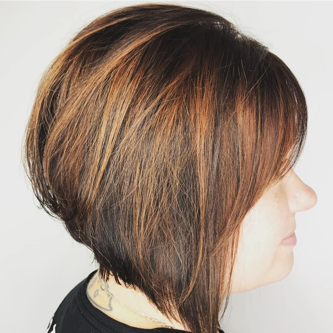 classy short haircuts and hairstyles for thick hair copper