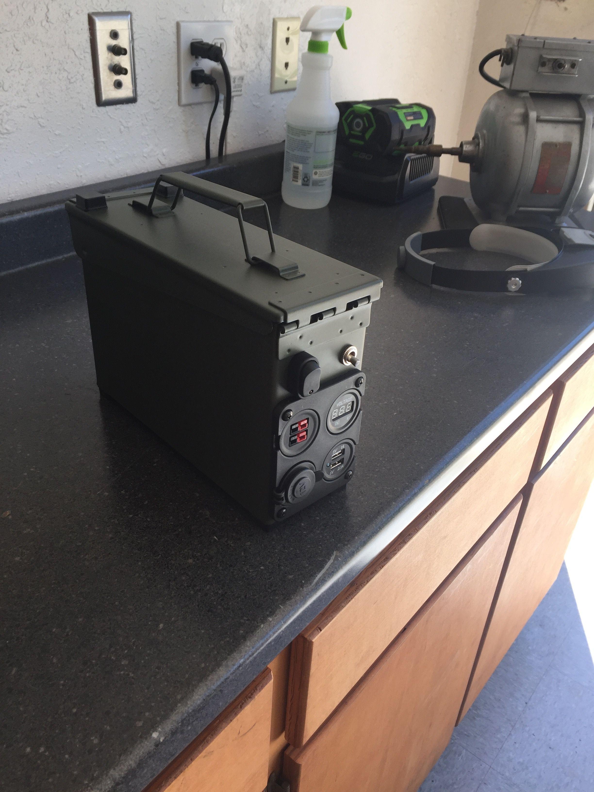 shtf battery box 17ah by n6voa n6voa pinterest anleitungen und selber bauen. Black Bedroom Furniture Sets. Home Design Ideas